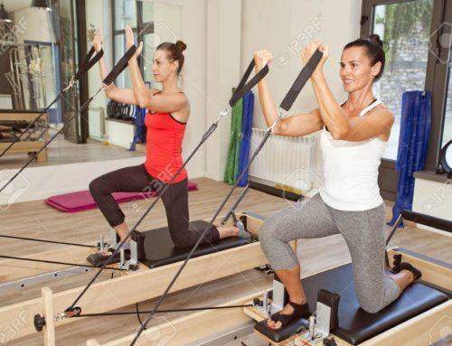 Pilates con macchine Reformer